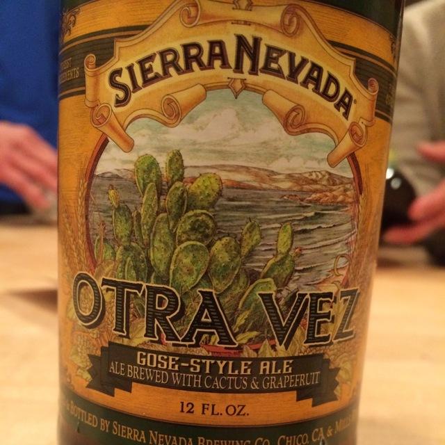 Otra Vez Gose-Style Cactus and Grapefruit Ale NV