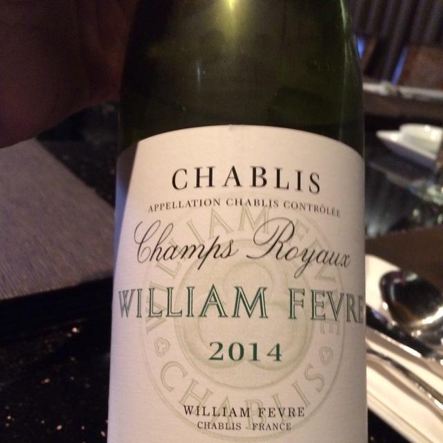 Champs Royaux Chablis Chardonnay 2014