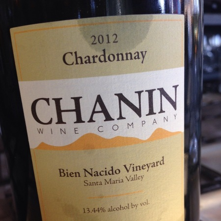 Chanin Bien Nacido Vineyard Chardonnay 2014