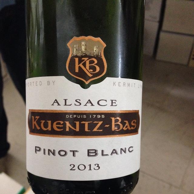 Alsace Pinot Blanc 2013