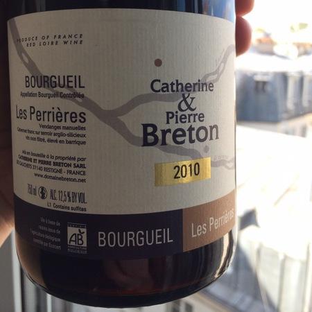 Catherine et Pierre Breton Les Perrières Bourgueil Cabernet Franc 2010 (1500ml)