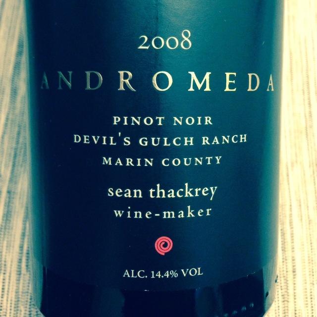 Andromeda Devil's Gulch Ranch Pinot Noir 2013