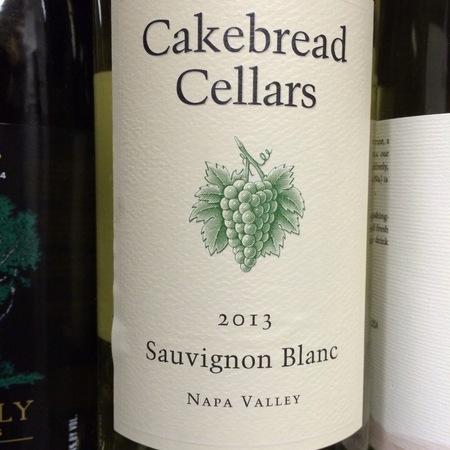 Cakebread Cellars Napa Valley Sauvignon Blanc 2013