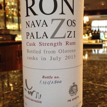 Navazos Palazzi Navazos Palazzi Cask Strength Rum NV (375ml)