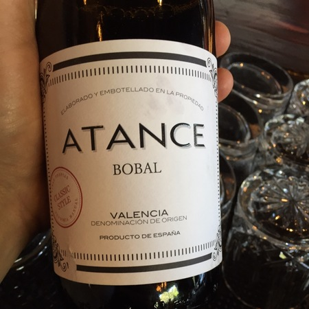 Atance Classic Style Valencia Bobal 2015