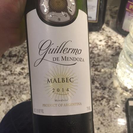 Don Guillermo de Mendoza Malbec 2014
