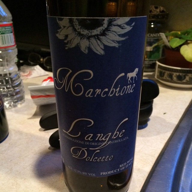 Langhe Dolcetto 2013