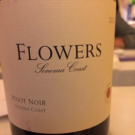 Flowers Vineyard & Winery Sonoma Coast Pinot Noir 2015