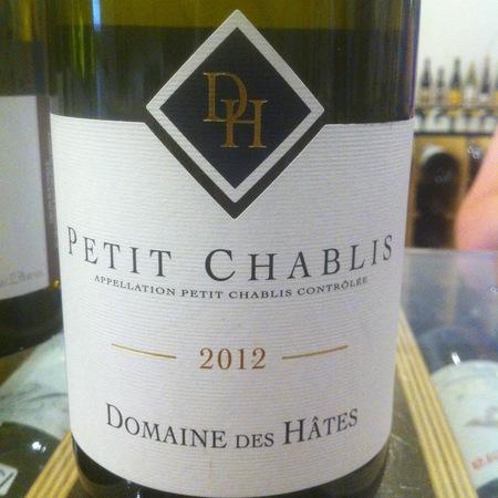 Domaine des Hâtes Petit Chablis Chardonnay 2014