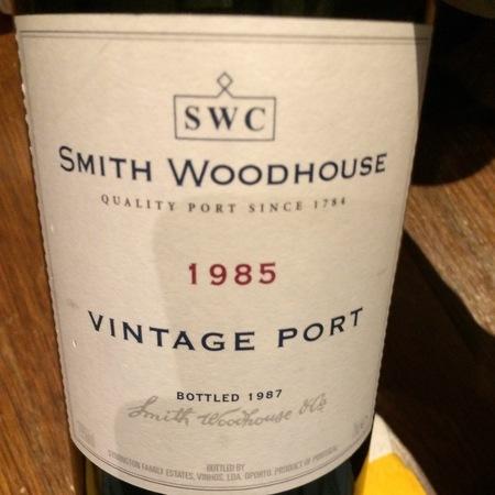 Smith Woodhouse  Vintage Porto Port Blend 1985