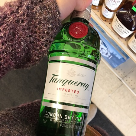 Tanqueray Imported London Dry Gin NV
