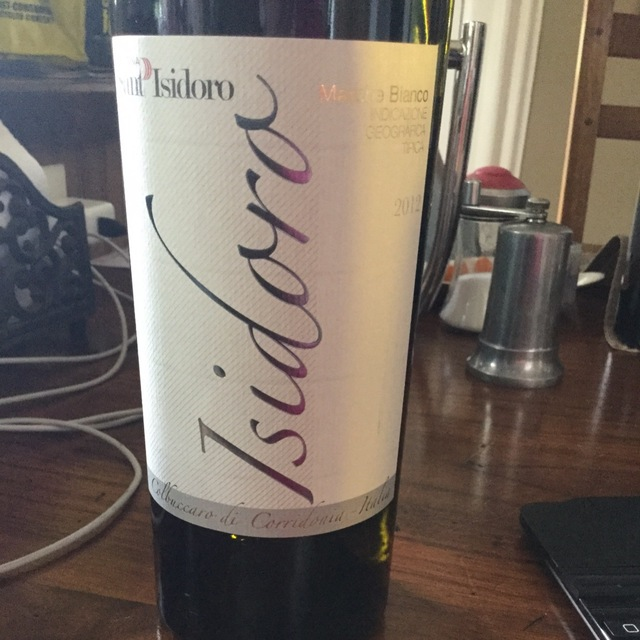 Isidoro Marche White Blend 2013