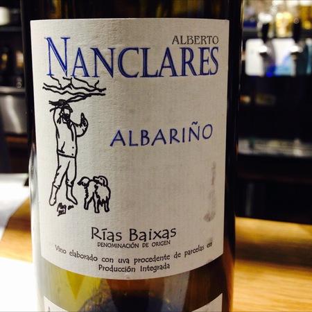 Alberto Nanclares  Rías Baixas Albariño 2016