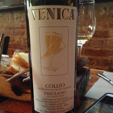 Venica & Venica Collio Friulano 2015