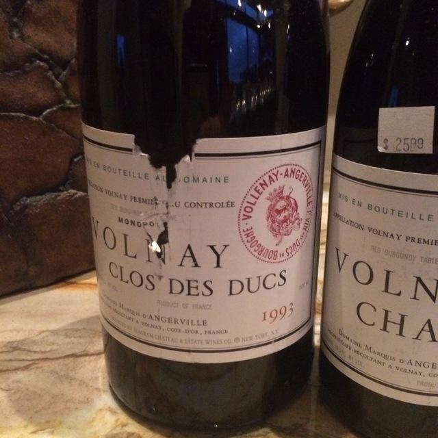 Clos des Ducs Monopole Volnay 1er Cru Pinot Noir 2013
