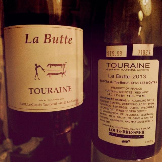 La Butte Touraine Gamay 2013