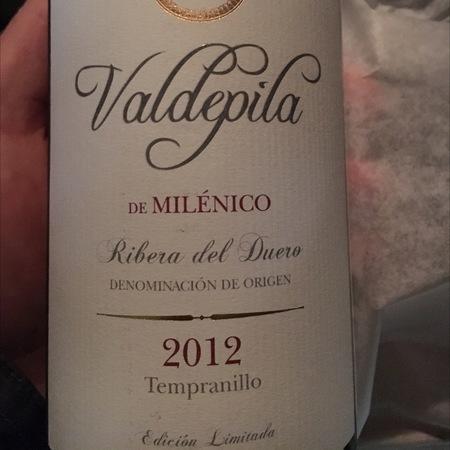 Milénico Valdepila de Milénico Edición Limitada Ribera del Duero Tempranillo 2012