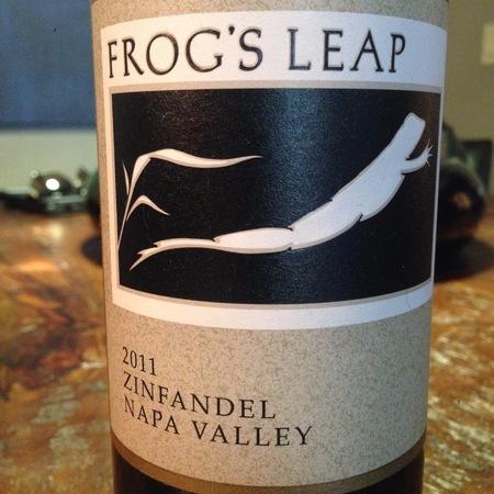 Frog's Leap Napa Valley Zinfandel 2015