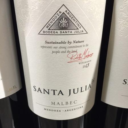 Bodega Santa Julia [+] Mendoza Malbec 2017