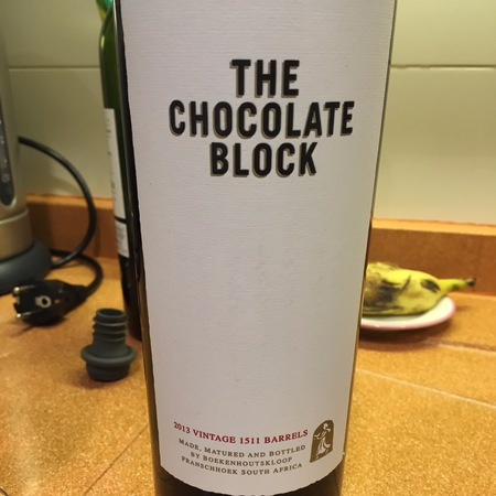Boekenhoutskloof The Chocolate Block Cinsault Blend 2013