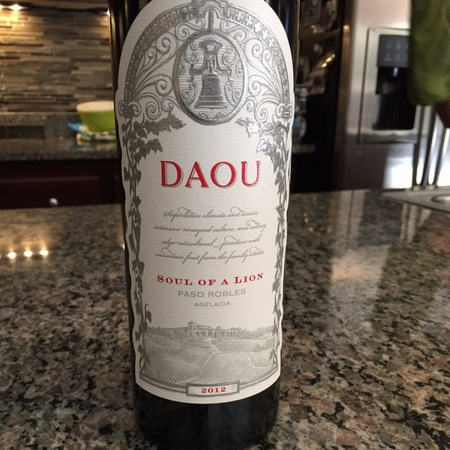 Daou Vineyards Soul Of A Lion Adelaida District Red Blend 2013