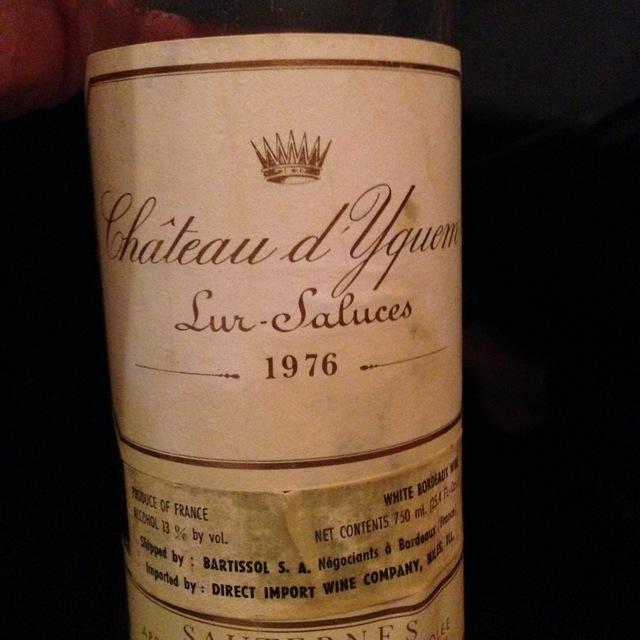 Sauternes Sémillon-Sauvignon Blanc Blend 1976 (1500ml)