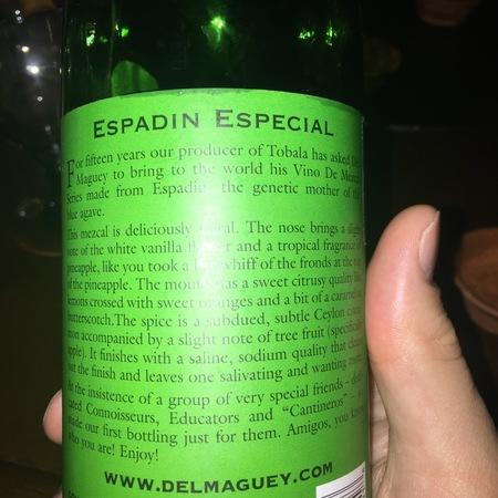 Del Maguey Espadin Especial  NV