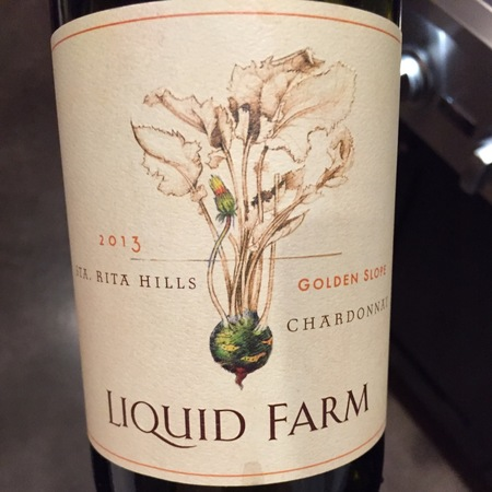 Liquid Farm Golden Slope Sta. Rita Hills Chardonnay 2013