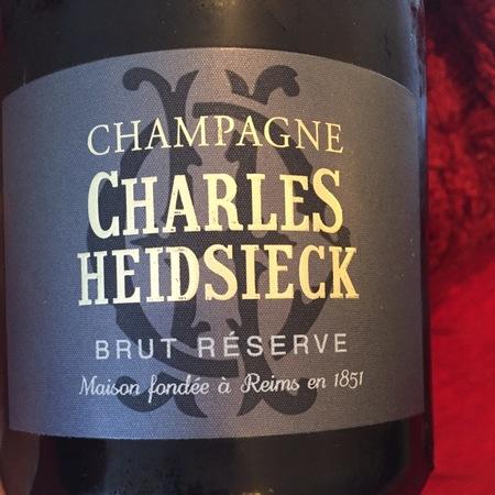 Charles Heidsieck Réserve Brut Champagne Blend NV