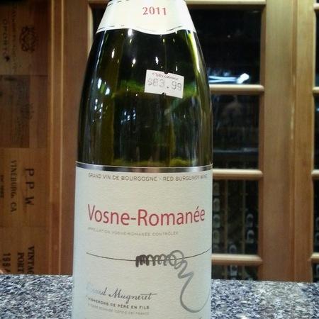 Gérard Mugneret Vosne-Romanée Pinot Noir 2011