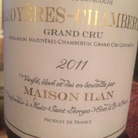 Maison Ilan Mazoyères-Chambertin Grande Cru Pinot Noir 2011