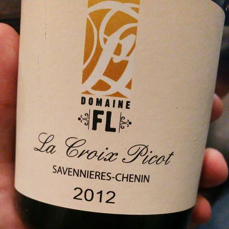 Domaine FL La Croix Picot Savennières Chenin Blanc 2012
