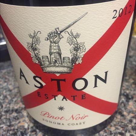 Aston Estate Sonoma Coast Pinot Noir 2012