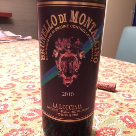 Fattoria La Lecciaia (Pacini) Brunello di Montalcino Sangiovese 2010