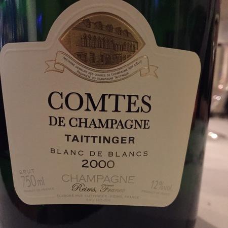 Taittinger  Comtes de Champagne Brut Blanc de Blancs Champagne Chardonnay 2000