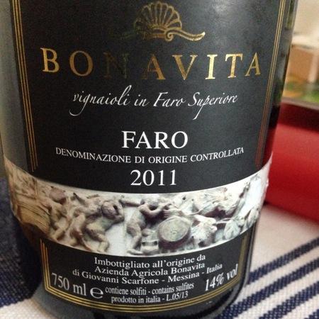 Bonavita Faro Nerello Blend 2013