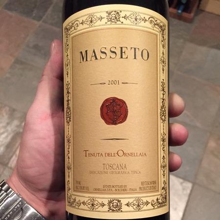 Tenuta dell'Ornellaia Masseto Toscana Merlot 2001