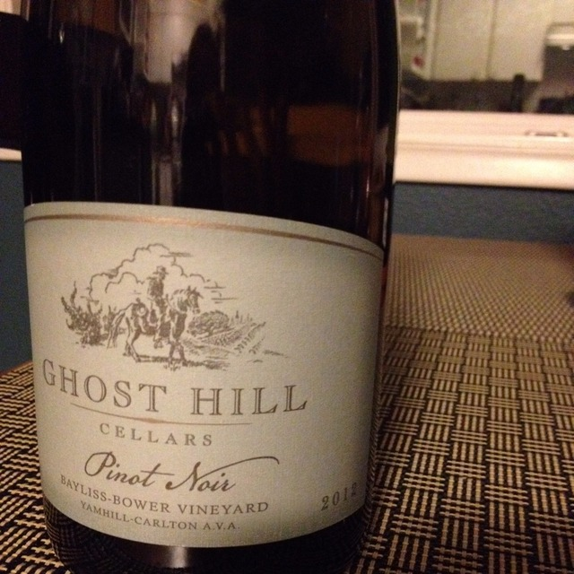 Bayliss-Bower Vineyard Pinot Noir 2012