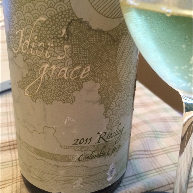 Idiot's Grace Columbia Gorge Riesling 2014