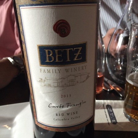 Betz Family Winery Cuvée Frangin Red Blend 2013