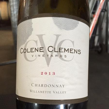 Colene Clemens Vineyards Willamett Valley Chardonnay 2014