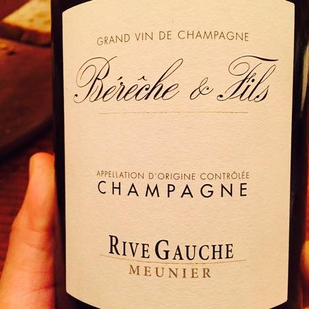 Bérêche & Fils Rive Gauche Extra Brut Champagne Pinot Meunier NV