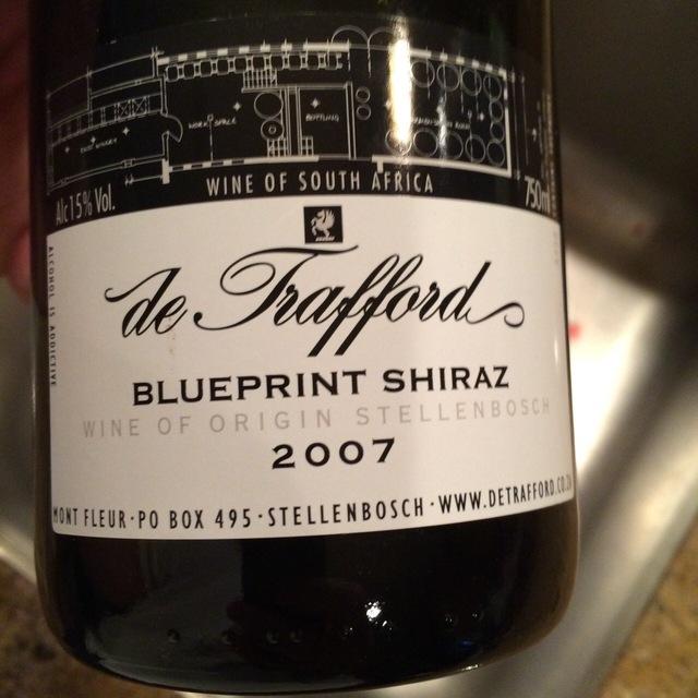 Blueprint Shiraz 2007