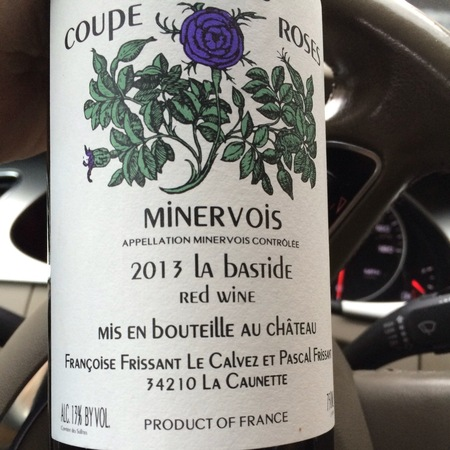 Château Coupe Roses La Bastide Minervois Carignan Blend 2016