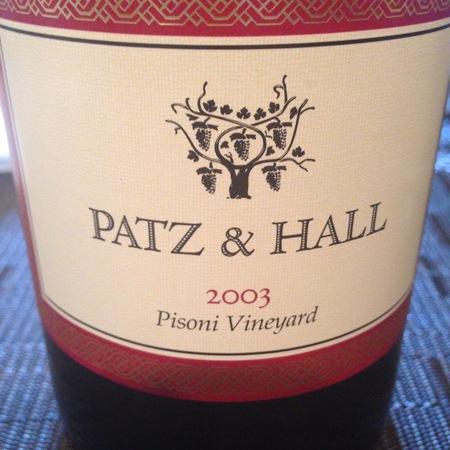 Patz & Hall Pisoni Vineyard Pinot Noir 2003