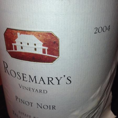 Talley Vineyards Rosemary's Vineyard Pinot Noir 2004