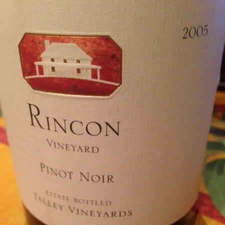 Talley Vineyards Rincon Vineyard Pinot Noir 2005