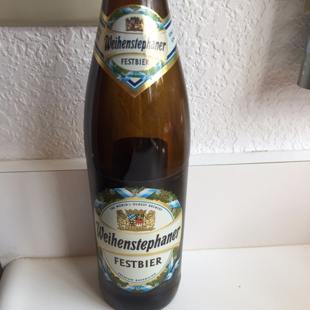 Bayerische Staatsbrauerei Weihenstephan (Weihenstephaner) Festbier NV (500ml)