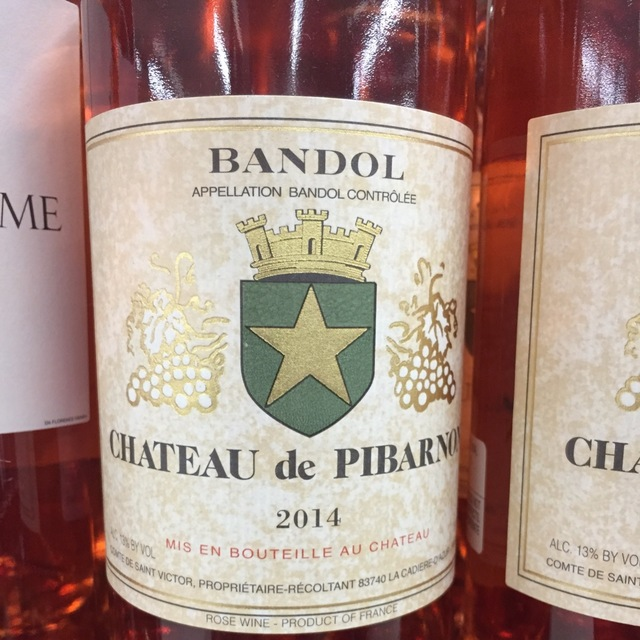 Bandol Rosé Blend  2014