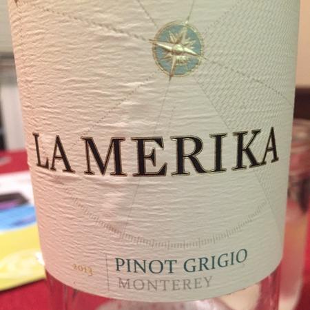 La Merika Monterey Pinot Grigio 2013